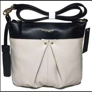 Tignanello Convertible Crossbody Leather Purse
